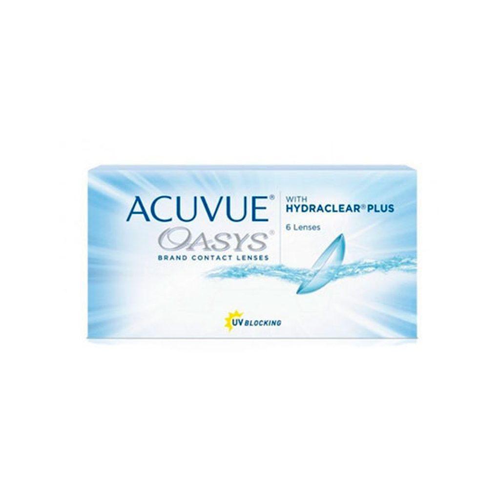 контактные линзы acuvue-oasys