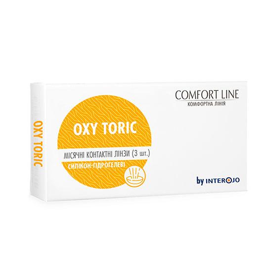 контактные линзы oxy toric